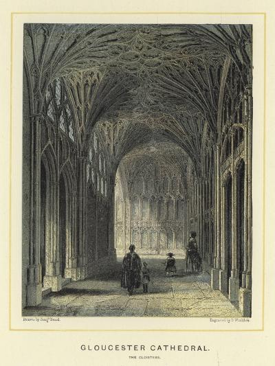 Gloucester Cathedral, the Cloisters-Benjamin Baud-Giclee Print