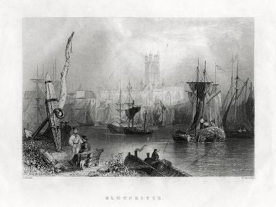 Gloucester, England, 19th Century-W Mossman-Giclee Print