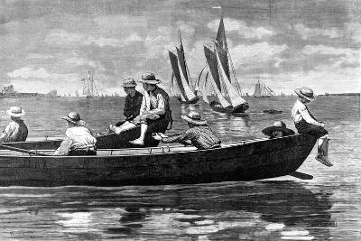 Gloucester Harbor-Winslow Homer-Giclee Print