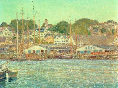 Gloucester Harbour, 1917-Childe Hassam-Giclee Print