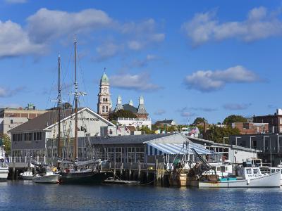 Gloucester Inner Harbor, Cape Ann, Greater Boston Area, Massachusetts, New England, USA-Richard Cummins-Photographic Print
