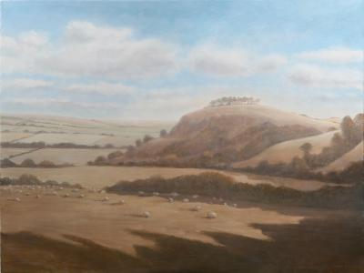 Gloucestershire Landscape, 2012-Lincoln Seligman-Giclee Print