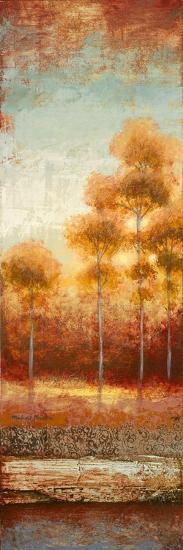 Glowing Red Trees II-Michael Marcon-Premium Giclee Print