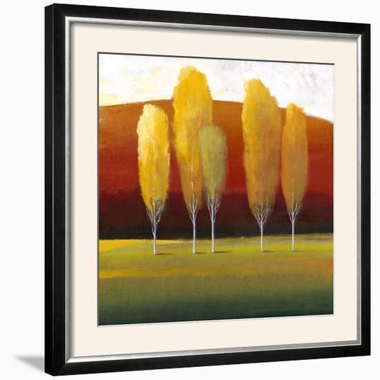Glowing Trees II-Tim O'toole-Framed Photographic Print