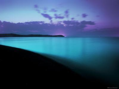Glowing Turquoise Blue Waters-Jan Lakey-Photographic Print