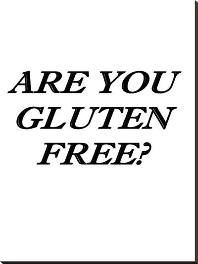 Gluten Free Healthy Food-Wonderful Dream-Stretched Canvas Print
