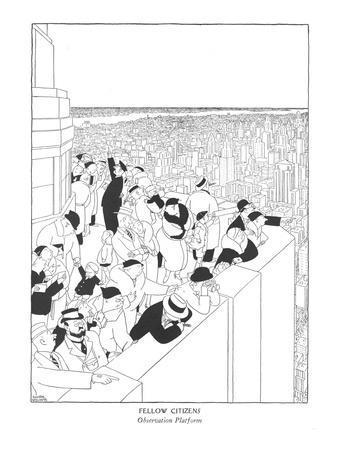 Fellow Citizens-Observation Platform - New Yorker Cartoon