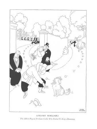 Literary Renegades-The Albert Payson Terhune Collie Who Failed To Stop a R? - New Yorker Cartoon