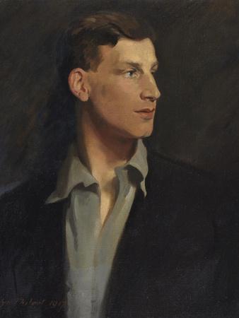 Portrait of Siegfried Sassoon (1886-1967) 1917