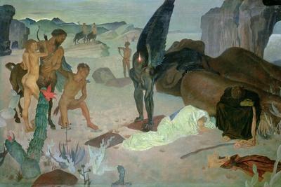 Repose on the Flight into Egypt, c.1922