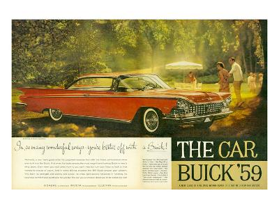 GM -Better Off With a Buick--Art Print