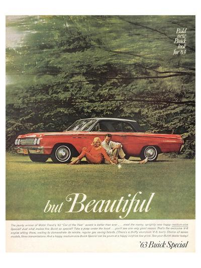 GM Bold New Buick Look for '63--Art Print