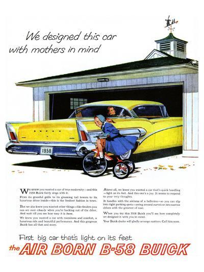 GM Buick-Car Light On Its Feet--Art Print