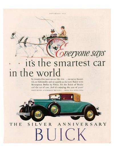 GM Buick - Is the Smartest Car--Art Print