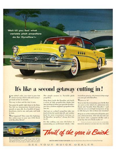 GM Buick-Like a Second Getaway--Art Print