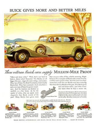 GM Buick-More and Better Miles