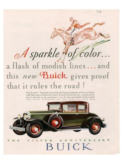 GM Buick - Sparkle of Color--Art Print