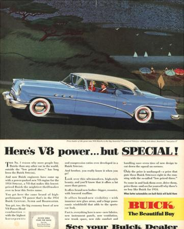 GM Buick V8 Power -But Special