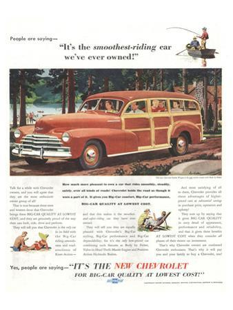 GM Chevrolet- Smoothest-Riding