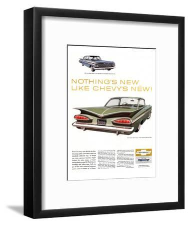 GM Chevy Bel Air 4-Door Sedan