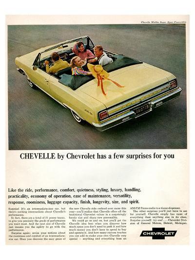GM Chevy Chevelle Surprises--Art Print