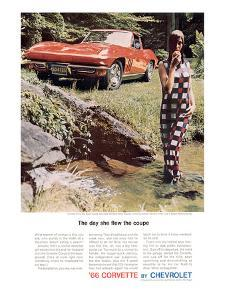 GM Corvette Flew the Coupe