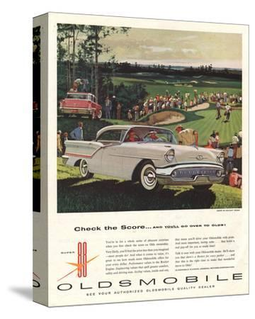 GM Oldsmobile-Check the Score