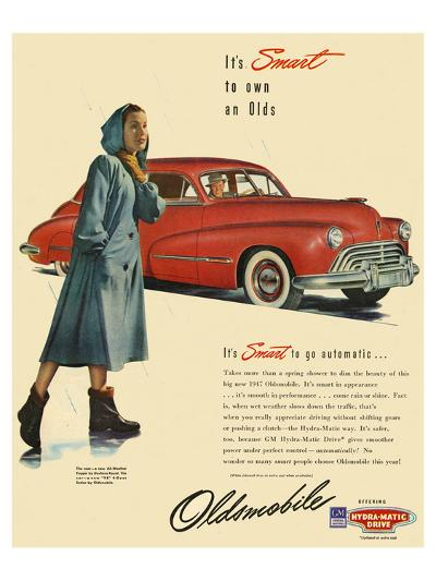GM Oldsmobile - Go Automatic--Art Print