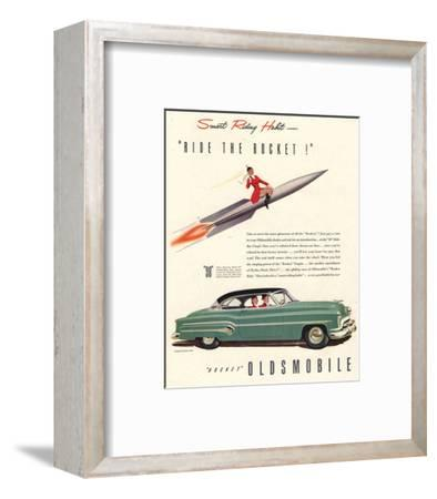 GM Oldsmobile- Ride the Rocket
