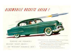 GM Oldsmobile-Rockets Ahead