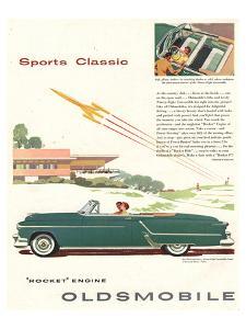 GM Oldsmobile - Sports Classic