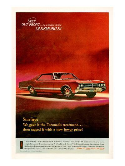 GM Oldsmobile - Step Out Front--Art Print