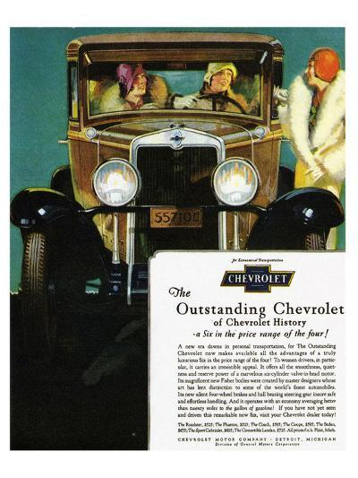 GM Outstanding Chevrolet--Art Print