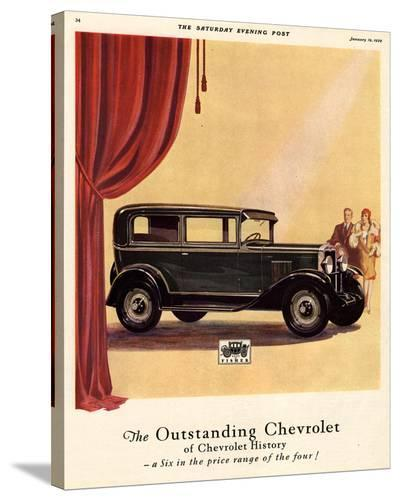 GM Outstanding Chevrolet--Stretched Canvas Print