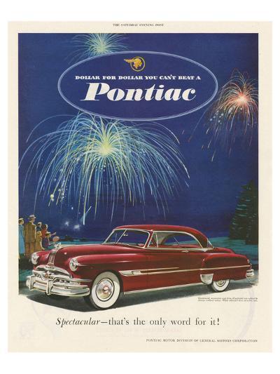 GM Pontiac - Dollar for Dollar--Art Print