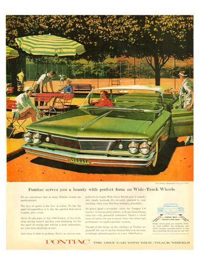 GM Pontiac - Wide Track Wheels--Art Print