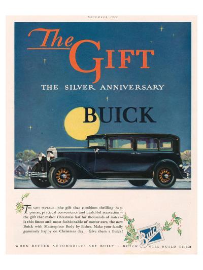 GM - Silver Anniversary Buick--Art Print