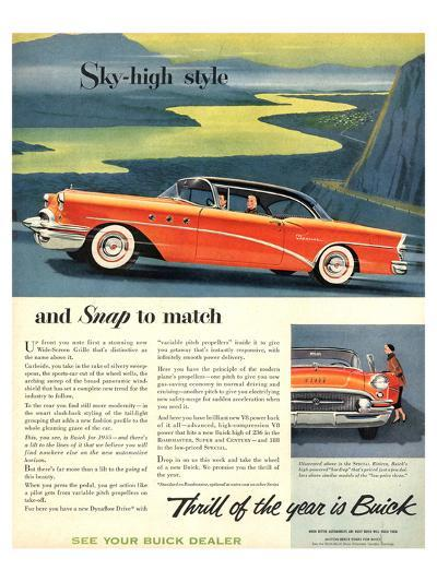 GM - Thrill of the Year: Buick--Art Print