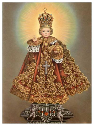 Gnadenreiches Prager Jesuskind--Art Print