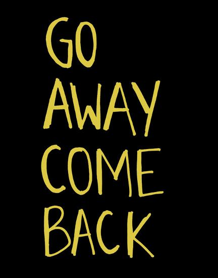 Go Away Come Back-Urban Cricket-Art Print