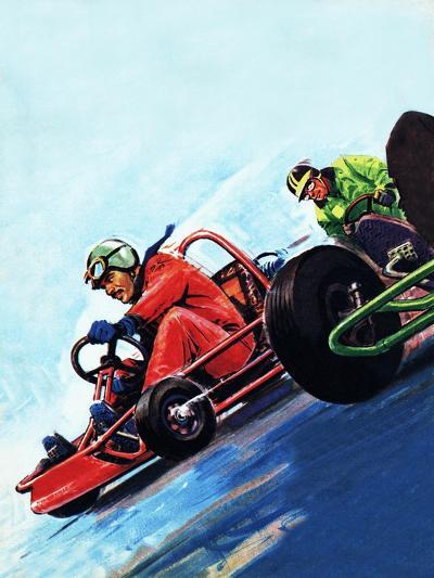Go-Carting--Giclee Print