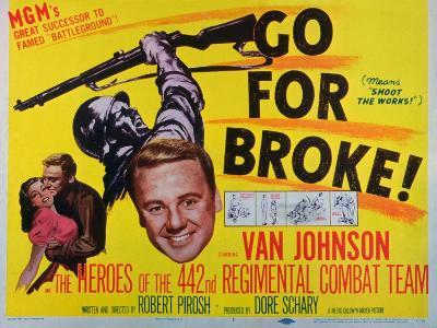 Go for Broke, 1951--Art Print