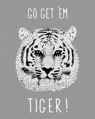 Go Get 'em Tiger!-Emilie Ramon-Giclee Print