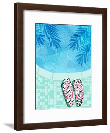 Go Time-Wacka Designs-Framed Art Print
