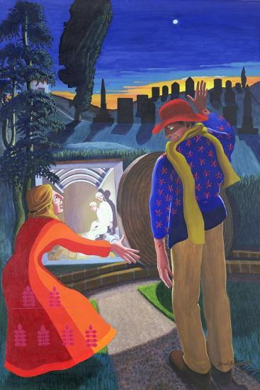 """""""Go to My Brothers and Tell Them"""", 2001-Dinah Roe Kendall-Giclee Print"""