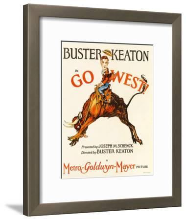 Go West! (Aka Go West), Buster Keaton, 1925