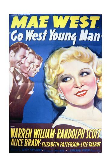 Go West Young Man - Movie Poster Reproduction--Art Print