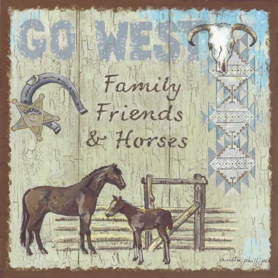 Go West-Anita Phillips-Art Print