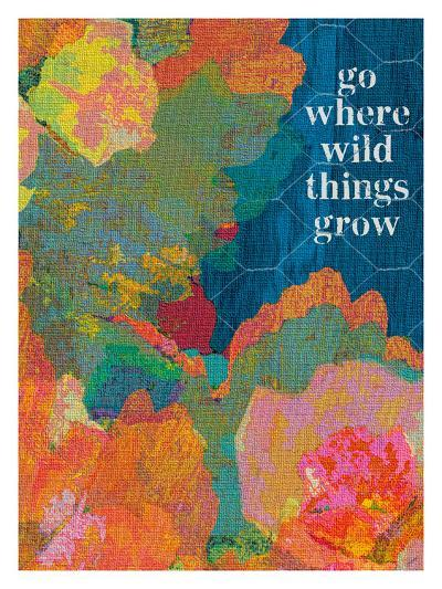 Go Where The Wild Things Grow-Lisa Weedn-Giclee Print