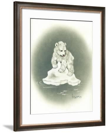 Go with the Floe-Peggy Harris-Framed Giclee Print